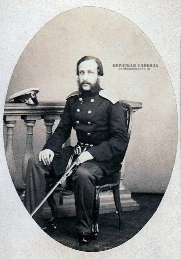 Александр Александрович Пушкин (1833-1914), старший сын поэта