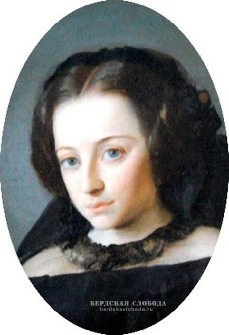 Анна Ивановна Генерозова (Милославская). Портрет работы крепостного художника