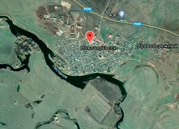 В Орском уезде Оренбургской губернии были два Ново-Черкасских поселка, один в составе Воздвиженского станичного юрта, другой в составе Гирьяльского