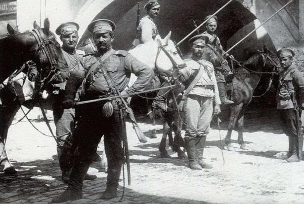 Оренбургские казаки времен Гражданской войны