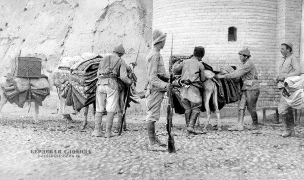 Красноармейцы Туркестанского фронта