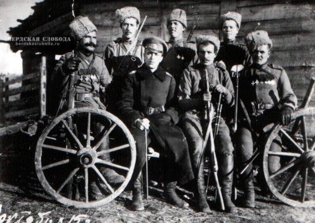 Оренбургские казаки-участники Первой мировой войны