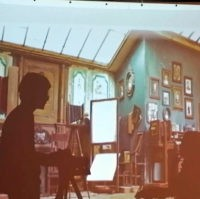 Оренбургский Театр теней «Лица во времени» представил экспериментальный спектакль-игру про гаджеты прабабушек