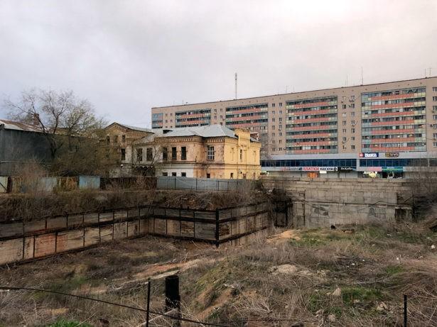 Этот участок хотят застроить, вид с улицы Пролетарской