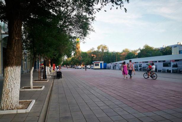 Площадь «Атриума» в настоящее время