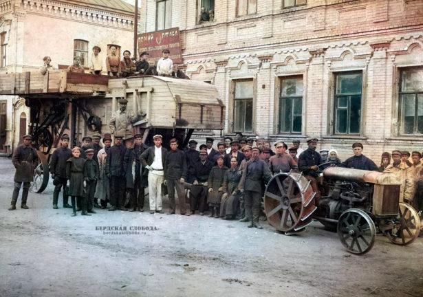 Товарищество по обработке земли. Орск, 1928. Фото ОКМ